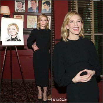 Cate-Blanchett-In-Victoria-Beckham-Caricature-Unveiling-At-Sardis-In-New-York-700×700