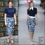 Ruth Wilson In Michael Kors   – Olivier Awards Nominations Celebration