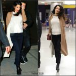 Amal Clooney In  Akris – Out In New York