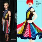 Annabelle Wallis In Mary Katrantzou – CinemaCon 2017