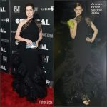 Anne Hathaway In Armani Privé At  'Colossal' New York Premiere