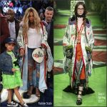 Beyonce Knowles In Gucci – 66th NBA All-Star Game
