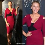 Blake Lively In Roland Mouret  At  Women Of Worth Gala