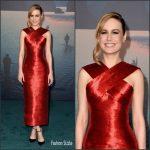 "Brie Larson   In  Oscar De La Renta  – ""Kong: Skull Island"" LA Premiere"