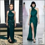 Brie Larson In Ralph & Russo Couture – 2017 Vanity Fair Oscar Party