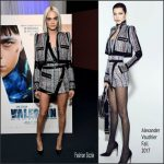 Cara Delevingne In Alexandre Vauthier  At 'Valerian and The City of a Thousand Planets' Trailer Viewing