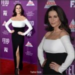 Catherine Zeta-Jones  In Rhea Costa – Feud : Bette and Joan LA Premiere