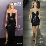 Charlize Theron  In Saint Laurent – 2017 amfAR Hong Kong Gala