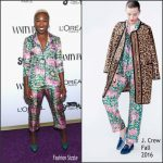 Cynthia EriVo  In J Crew – Vanity Fair Young Hollywood Party