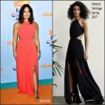 Demi Lovato In Halston Heritage – Nickelodeon's 2017 Kids' Choice Awards