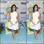 Demi Lovato In Jill Stuart –  UN and Smurfs: The Lost Village Celebrate International Day of Happiness