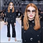 Emma Roberts  In Chloe – Chloe Fall 2017 Paris Fashion Week Show