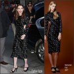 Emma Roberts In Markarian  At  Late Show with Stephen Colbert