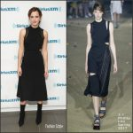 Emma Watson In 3.1 Phillip Lim At SiriusXM 'Town Hall'
