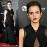 Emma Watson In Givenchy Couture – 'Beauty And The Beast' New York Premiere