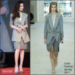 Fan Bingbing In Louis Vuitton – 'The Amazing Race China' Press Conference