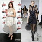 Felicity Jones In Olivier Theyskens – Three Empire Awards