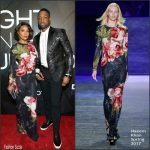 Gabrielle Union-Wade In Naeem Khan At 'A Night On The RunWade' Fundraiser