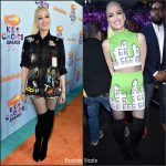 "Gwen Stefani In Libertine & Jeremy Scott –  2017 ""Kids"" Choice Awards"