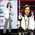 Isabelle Huppert In Chloé – 2017 Film Independent Spirit Awards
