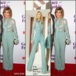 Jane Fonda In Elie Saab – Netflix's 'Grace and Frankie' Season 3 Premiere