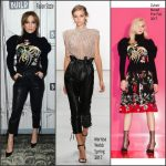 Jennifer Lopez  In Zuhair Murad  &  Marissa Webb –  Build Series In New York