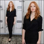Jessica Chastain  In The Row  – Build Series In  New York
