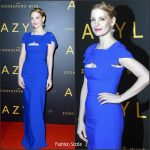 Jessica Chastain In Antonio Berardi – 'The Zookeeper's Wife' Warsaw Premiere