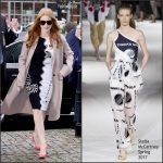 Jessica Chastain In Stella McCartney – TVN Studios