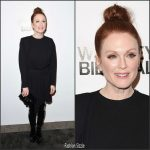 Julianne Moore In Louis Vuitton – Whitney Biennial Event In New York