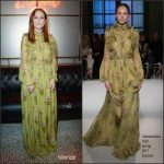 Julianne Moore In Giambattista Valli Couture – L'Oreal Paris Dinner