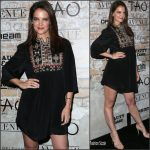 Katie Holmes  In Isabel Marant –  TAO, Beauty & Essex, Avenue and Luchini LA Grand Opening
