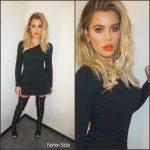 Khloe Kardashian In Cushnie Et Ochs – Instagram Pic