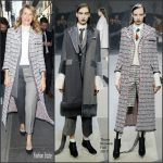 Laura Dern In  Thom  Browne  – 'Today Show'