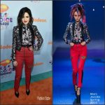 Laura Marano In Marc Jacobs  At Nickelodeon's 2017 Kids' Choice Awards
