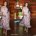 Lea Michele In Saloni – 'The Ellen Degeneres Show'