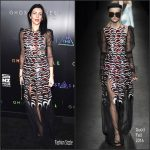Liberty Ross In Gucci  At 'Ghost In The Shell' New York Premiere