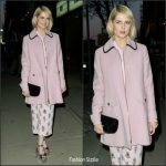 Lucy Boynton In Prada  – ' The Blackcoat's Daughter' New York Screening