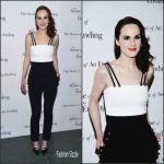 Michelle Dockery In David Koma – Sense Of An Ending New York Screening