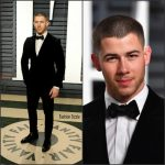 Nick Jonas  In  Ermenegildo Zegna –   2017 Vanity Fair Oscar Party