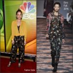 Nicole Richie  In Etro – NBCUniversal Press Junket in New York