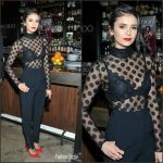 Nina Dobrev In Elie Saab – 'The Hollywood Reporter' & Jimmy Choo's Power Stylists Dinner In LA
