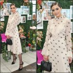 Olivia Culpo In Temperley London – UGG SS17 Campaign Launch In LA