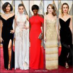 Oscars 2017  Best Dressed  On The Redcarpet