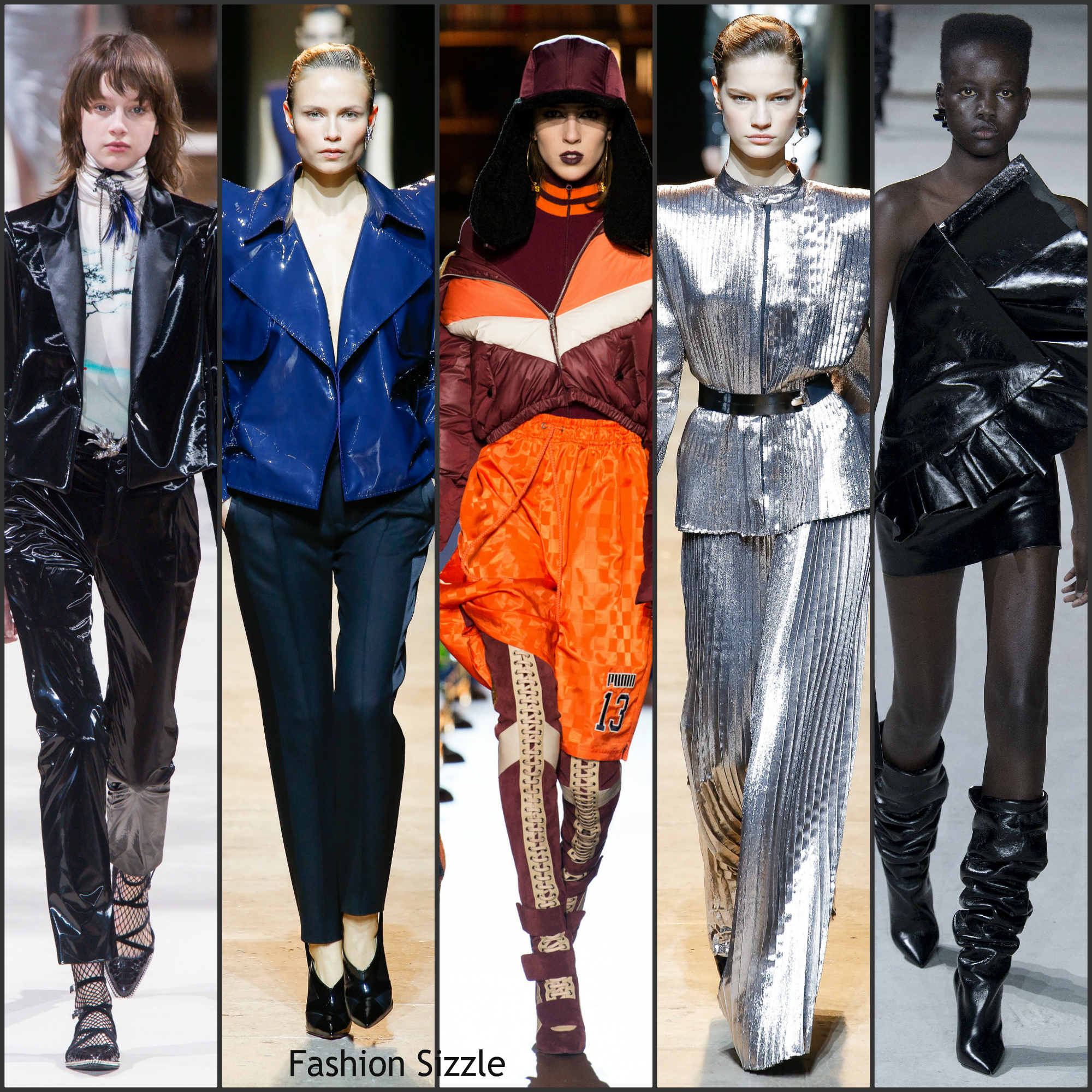 Paris Fashion Week Fall 2017 Fashion Trends