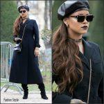Rihanna In Dior – Christian Dior Fall 2017  Show In Paris