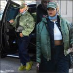 Rihanna   In  Supreme Hat, Vetements x Alpha Industries Jacket – Out In New York