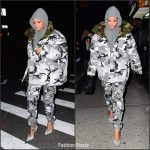 Rihanna In  Vetements x Canada Goose – Out In New York