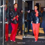 Rihanna  In Vetements x Juicy Couture – Out In New York