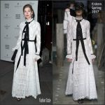 Rosamund Pike In Erdem  At 2017 Portrait Gala
